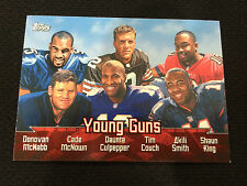 YOUNG GUNS INSERT TOPPS NFL QB FOOTBALL CARD ROOKIES MCNABB,COUCH,CULPEPPER,KING