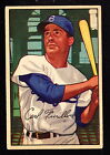 1952 BOWMAN #24 CARL FURILLO BROOKLYN DODGERS