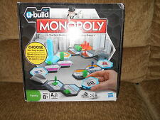 U-Build Monopoly Family Board Game By Hasbro ~ Complete
