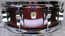 USA MADE LUDWIG 5 X 14 CLASSIC MAPLE SNARE with SNARE CASE