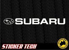 SUBARU VINYL STICKER DECAL TO SUIT WRX IMPREZA EJ20 EJ25 TURBO STI MY15 FORESTER