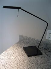 LUXO NINETY ENERGY EFFICIENT DESK TABLE LAMP BLACK TASK LIGHT HERMAN MILLER CO!