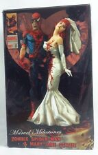 Marvel Milestones ZOMBIE SPIDER-MAN & MARY JANE Statue Limited Edition 668/2500