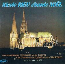 CD Nicole RIEU chante Noël 10 titres 1986 RARE