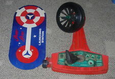 TOPPER  JOHNNY ASTRO W/ LAUNCHING STATION  SPACE TOY  C. 1960'S