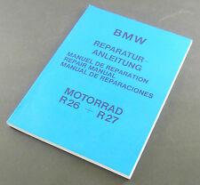 Reparaturanleitung BMW R 26 - R 27 - deutsch - englisch - spanisch - französisch