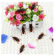 FD1470 Halloween Props Practical Joke Insect Bug Cockroaches Toy Kids Trick 5PCs