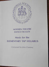 ISTD piano sheet music for the Elementary Tap Syllabus 1988 by John Chantrey