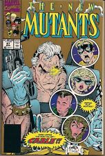 NEW MUTANTS #87 MARVEL 1ST APPEARANCE X-MEN'S CABLE 2ND PRINT GOLD VARIANT NM-