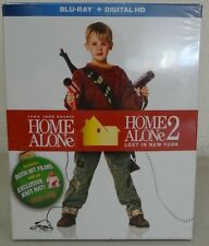 Home Alone 1 & 2 Blu Ray Movies With Exclusive Hat 25th Anniversary Edition NEW