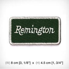 new REMINGTON Embroidered Patch Iron on sew Decorate clothes, Shotgun Rifle Gun