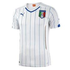 744297 02 PUMA ITALY SOCCER JERSEY KIDS L or XL YL or YXL WHITE ITALY  $70