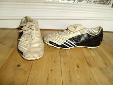 ADIDAS F10+ FOOTBALL BLADES BOOTS SIZE 4 GOOD CONDITION