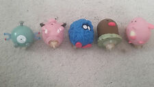 Pokemon Tangela, Magnemite, Diglet, Chansey, Clefairy Burger King Top Toys.