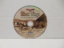 Silent Wings DVD American Bomber Glider Pilots Of WWII Documentary NO CASE Japan