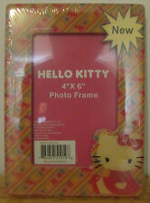 Sanrio Hello Kitty Photo Frame 4 X 6 Picture Frame, WK950030 ~ NEW (SEALED)