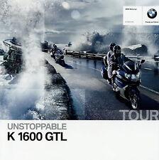 BMW K 1600 GTL Motorrad Prospekt 2 11 Motorradprospekt 2011 Deutschland brochure