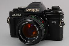 NEAR MINT MINOLTA X-700  SLR Film Camera & MD ROKKOR 50mm F1.4 50 Japan #Z096