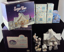 Precious Moments NIGHT LIGHT ~ Sugar Town Doctor's Office ~ Complete Set w/Boxes