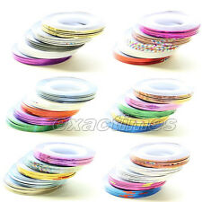 0.5mm Nail Art Rolls Striping Tape Line Nail Sticker Set Manicure Tips Decor