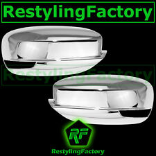 11-14 CHRYSLER 300+300C+200 Triple Chrome Plated Mirror Cover w/Turn Signal hole