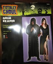 NWT Totally Ghoul Grim Reaper Hooded Robe Halloween Costume- Age 14+