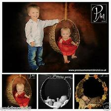 handmade boat basket annular bed Newborn baby photography photo props D-4