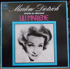 MARLENE DIETRICH CHANTE EN ALLEMAND LILI MARLENE FRENCH LP