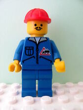 LEGO Minifig jbl002 @@ Bulldozer Logo Red Construction Helmet - 6439 6535 6565