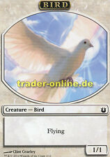 2x Token - Bird (Spielstein - Vogel) Born of the Gods Magic
