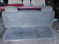 1999-07 Chevy Silverado GMC Sierra Extended Cab Truck Rear Bench Seat GREY CLOTH