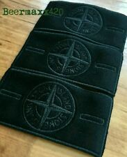 *@SALE@ NEW AUTHENTIC STONE ISLAND BLACK GHOST JACKET REPLACEMENT BADGE/BUTTONS*