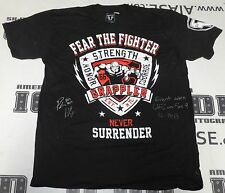 Pat Healy Signed UFC on Fox 9 Cage Worn Used Walkout Shirt PSA/DNA COA 2013 Auto