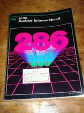 Libro Book Intel 286 hardware reference manual manuale vintage 80286