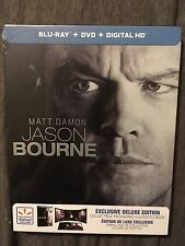 Jason Bourne 2016 (Blu-ray/DVD/Digital Copy) Deluxe Edition BRAND NEW SEALED