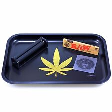 Weed Rolling Tray Table Cigarette Roller Papers Leaf Herb Joint High Life 420