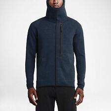 Nike Tech Fleece Full Zip Hoody Jacket Size M - Squadron Blue