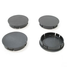 Universal Set of 4 Plain Wheel Center Hub Centre Caps 60mm Cover Insert