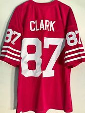 Mitchell and Ness Authentic NFL Jersey 49ers Dwight  Clark Red Throwback sz 44