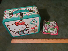 Hello Kitty by Sanrio (Eco Metal Lunch Box + Wallet + Mousepad + Notebook) LOT