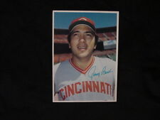 VINTAGE 1980 Topps Johnny Bench Cincinnati Reds 5x7 Color Photo, WOW-NICE!
