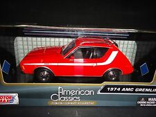 Motormax AMC Gremlin 1974 Red 1/24