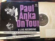 LP Paul Anka  on Tour - Deutschland-Tournee  Germany RCA Victor
