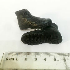 XE14-01 1/6 Scale HOT Black Male Boots (hollow) Shoes TOYS