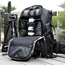 Professional Large Camera Backpack DSLR SLR For Nikon Canno Laptop Shoulder Bag