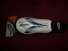 """BRINE ARROW TECH SHIN GUARD SOCCER NOCSAE SPECIFIED SMALL BLUE UP TO 4' 7"""""""