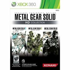 METAL GEAR SOLID HD COLLECTION- NEW XBOX 360 GAME