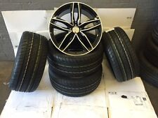 """19""""rs6 c bp alloy wheels vw golf audi/vw/tt/t4/a4/a3/a6/skoda/seat with tyres"""