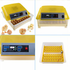 48 Egg Hatcher Incubator Digital Clear Temperature Control Automatic Turning