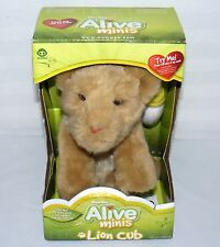 WOWWEE ALIVE MINIS NEW IN BOX LION CUB